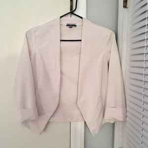 Jackets & Blazers - Women's 3/4 Sleeve White Blazer Size Small